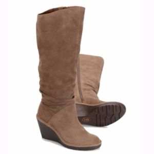 Eürosoft by Söfft Tan Calida Suede Wedge Boots